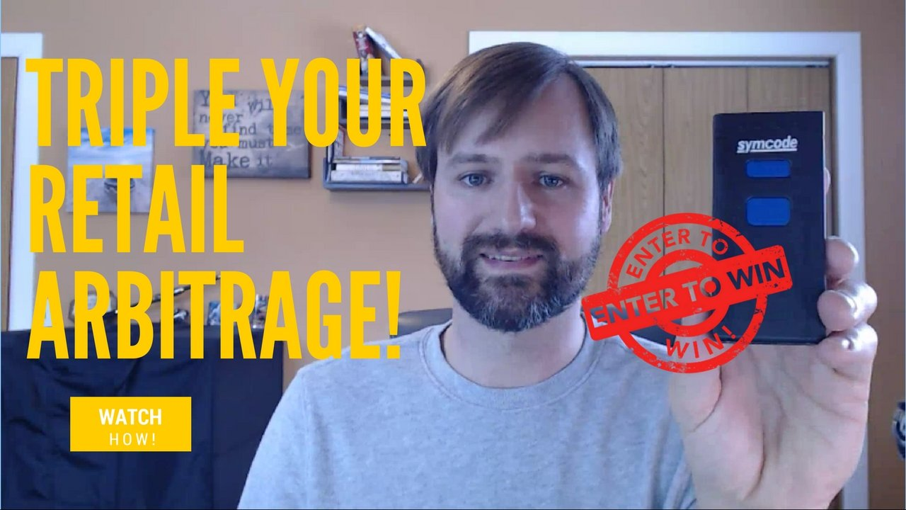 Read more about the article How To Triple Your Retail Arbitrage Purchases (Symcode Barcode Scanner Review and Giveaway)