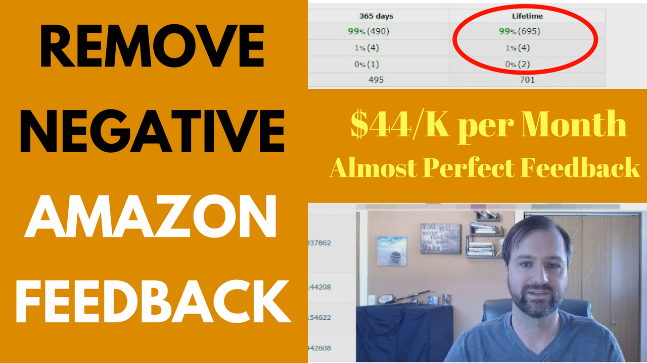 How to Remove Negative Feedback on Amazon as a Seller