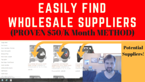 How to Find Wholesale Suppliers and Manufacturers for Amazon FBA 2018