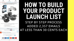 Step by Step Amazon Private Label Product Launch List Building How To