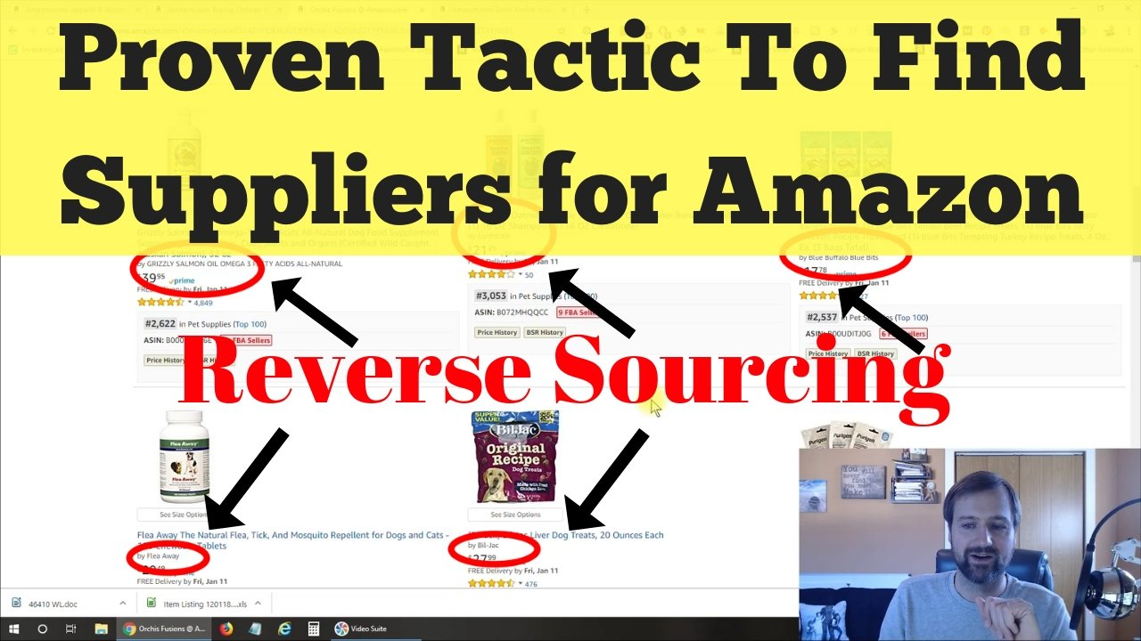 You are currently viewing Amazon Wholesale Reverse Sourcing, How to Find Suppliers, Distributors, Manufacturers for FBA