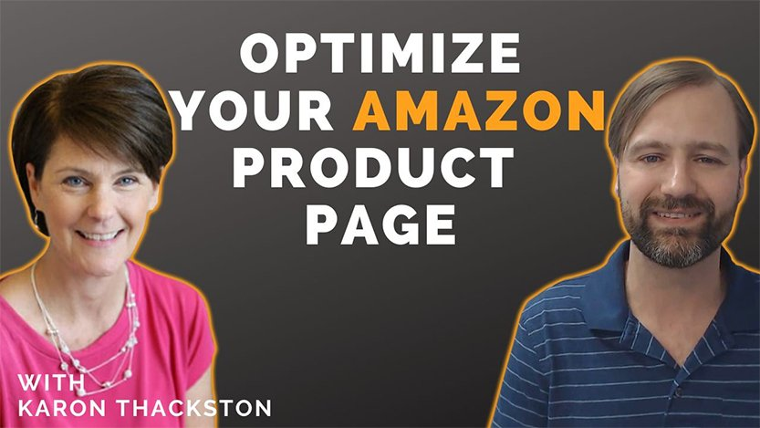 EA31 Amazon Product Page Optimization for Wholesale Sellers with Karon Thackston