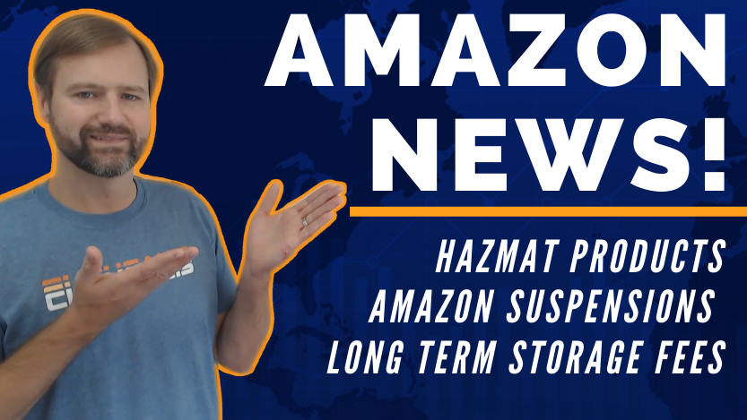 Amazon Suspensions, Hazmat Products, Long Term Storage Fees